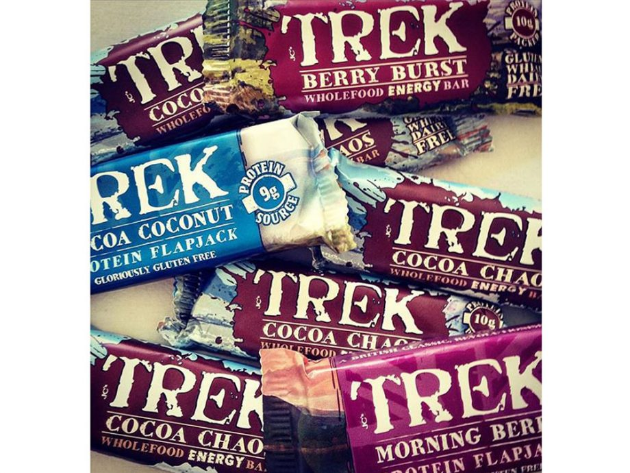 Trek protein bars come in with the highest sugar content