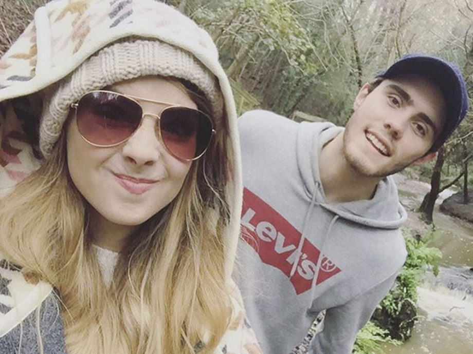 Zoella admits to dating alfie