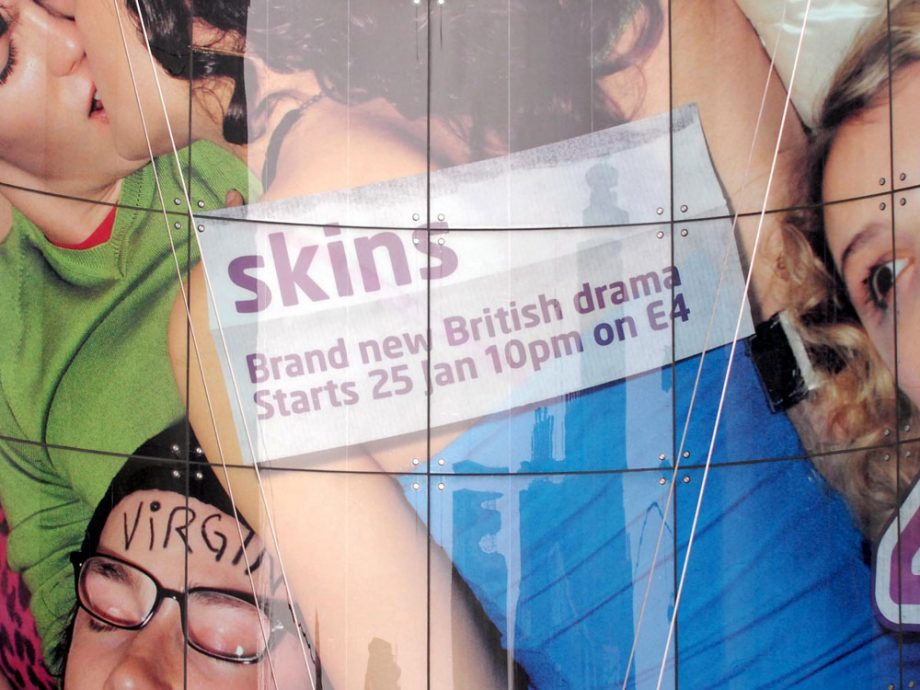 Skins made its debut in 2007