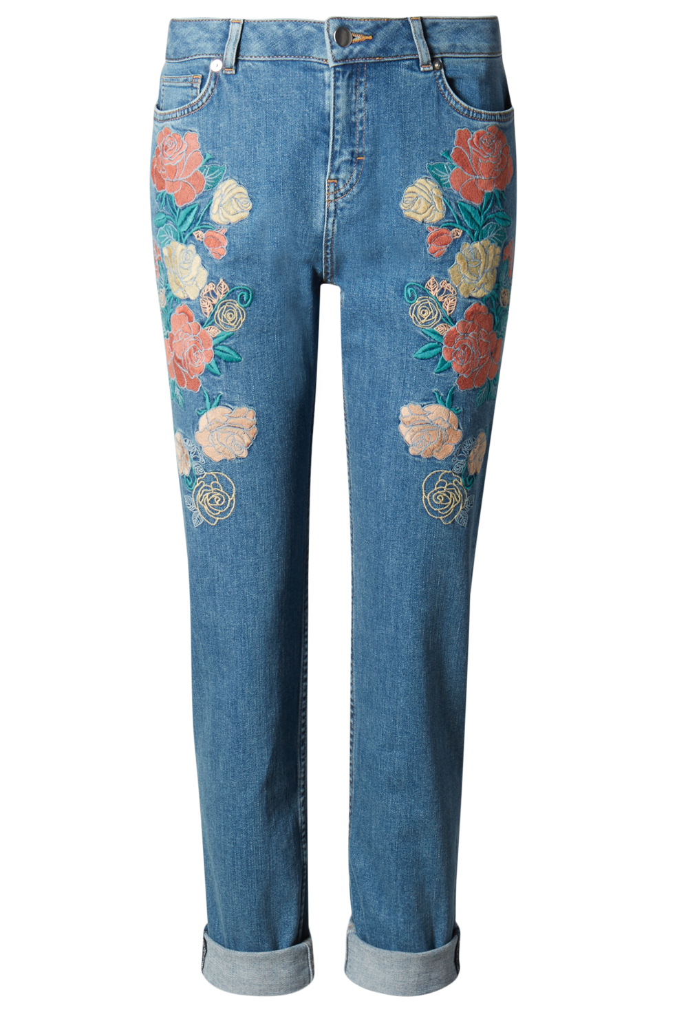 Seriously Cool Embroidered Jeans  Look