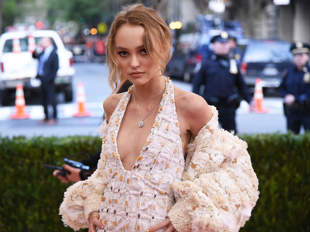 Lily Rose Depp Makes An Impact At Her First Met Gala Look
