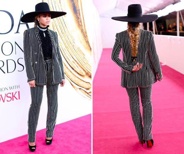 Beyonce S Cfda Hat Wasn T To Everyone S Taste Look