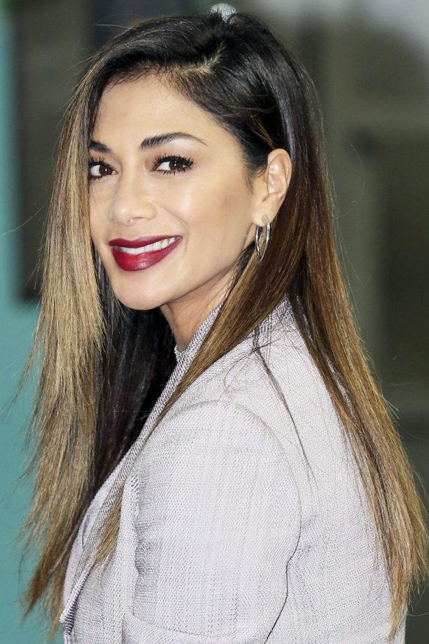 Ombre hair the hottest celebrity styles look nicole scherzinger lets her roots grow out to create the perfect subtle ombre 2015 urmus Images