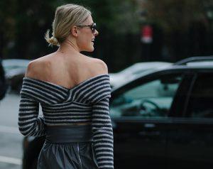 Mandatory Credit: Photo by Liz Devine/WWD/REX/Shutterstock (5073816e) Street style Street style, Spring Summer 2016, New York Fashion Week, America - 11 Sep 2015