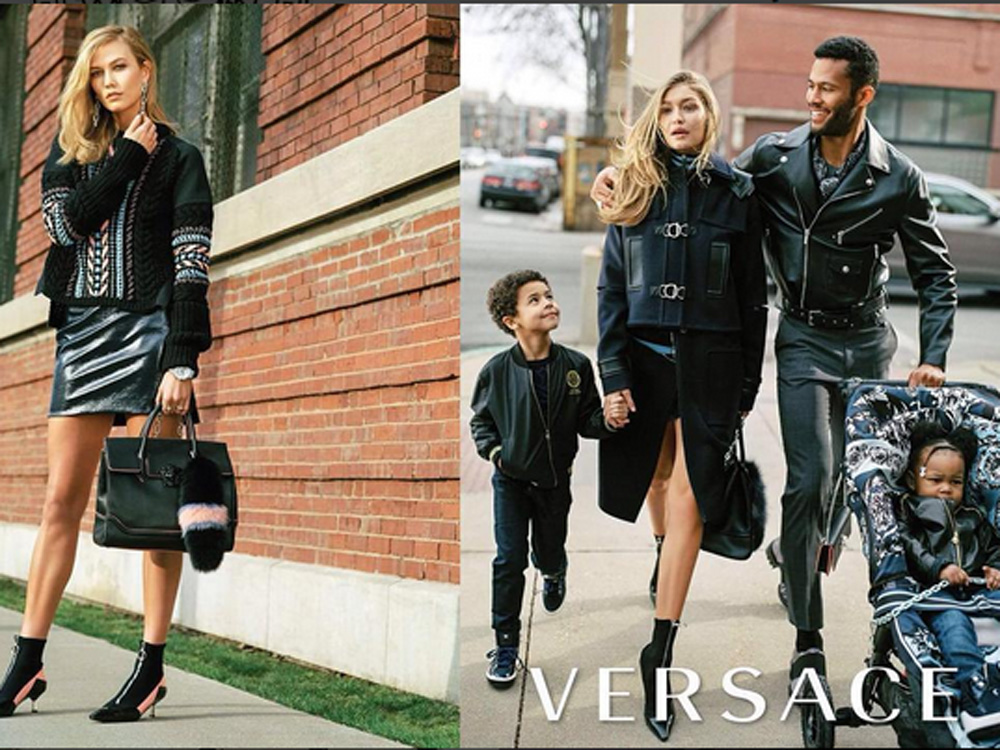 Is Gigi Hadid S New Versace Campaign Actually Racist Look