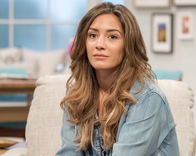 Frankie Bridge spoke to presenter Gaby Roslin about her experience with trolls