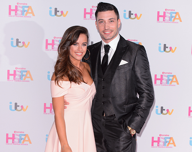 Georgia May Foote and Giovanni Pernice