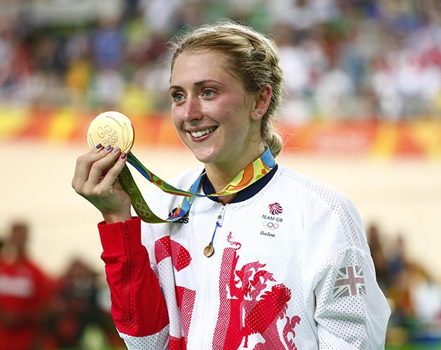 Laura Trott at the Olympics