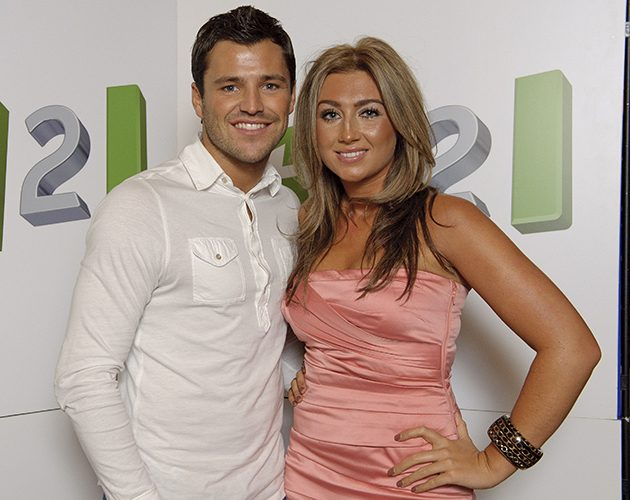 Michelle Keegan And Mark Wright Look Loved-Up At The BRITs ... Lauren Goodger And Mark Wright