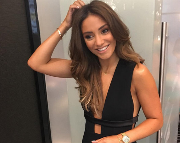 Frankie Bridge Makes A Controversial Wedding Guest Dress