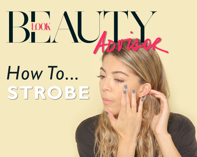 strobing with skincare