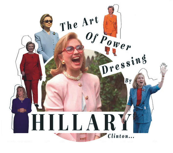 Hillary Clinton is the master of clever dressing