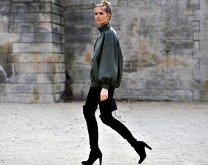 Street Style, Autumn Winter 2016, Paris Fashion Week, France - 08 Mar 2016
