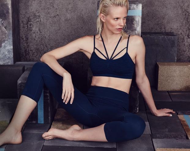 Sweaty yoga pants