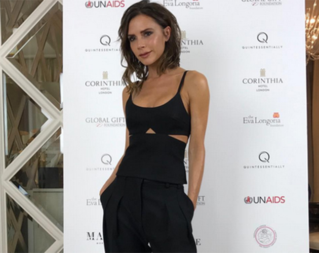 Fans applaud victoria beckham 39 s cheeky new outfit shot for Victoria magazine low country style