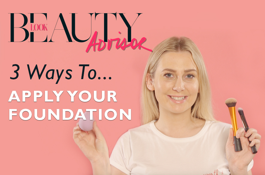 3 ways to apply foundation
