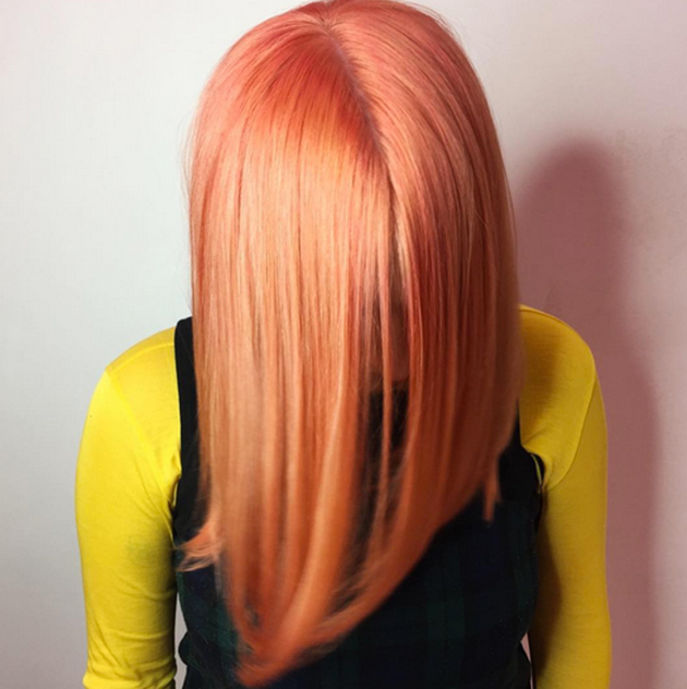Image result for blorange hair