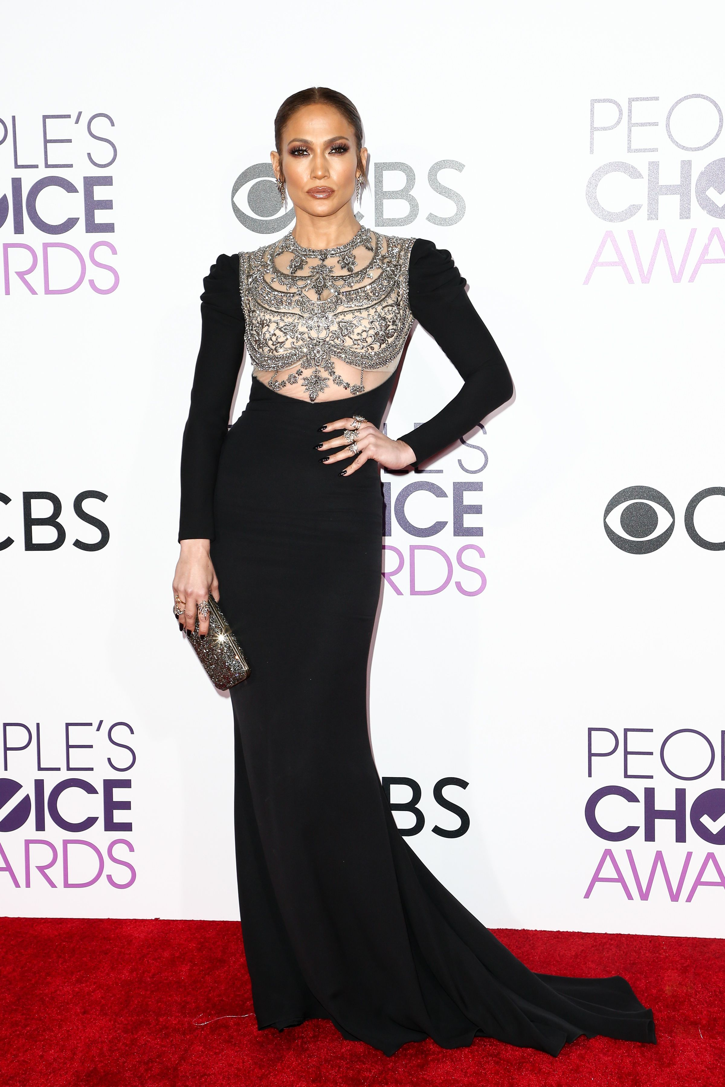 Why Jennifer Lopez S Dress Caused Such A Stir At The People Choice Awards Look Magazine
