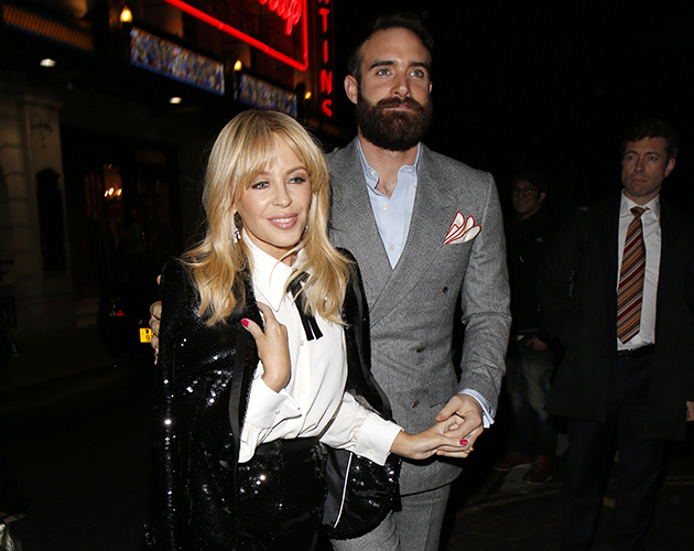 Who is dating kylie minogue