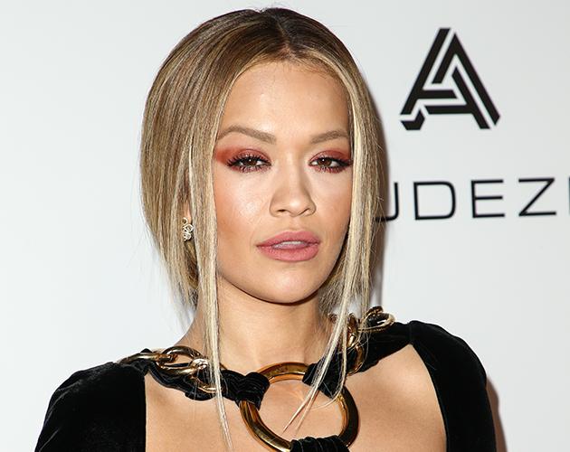 Rita Ora at the Grammys 2017