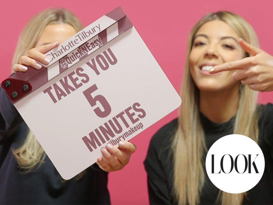 Charlotte Tilbury's 5 Minute Make-Up Challenge