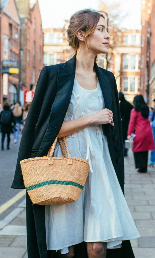 From Alexa Chung To Blogger Lucy Williams The Straw Bag Is Making A Strong Case For Being Spring S Most Wanted