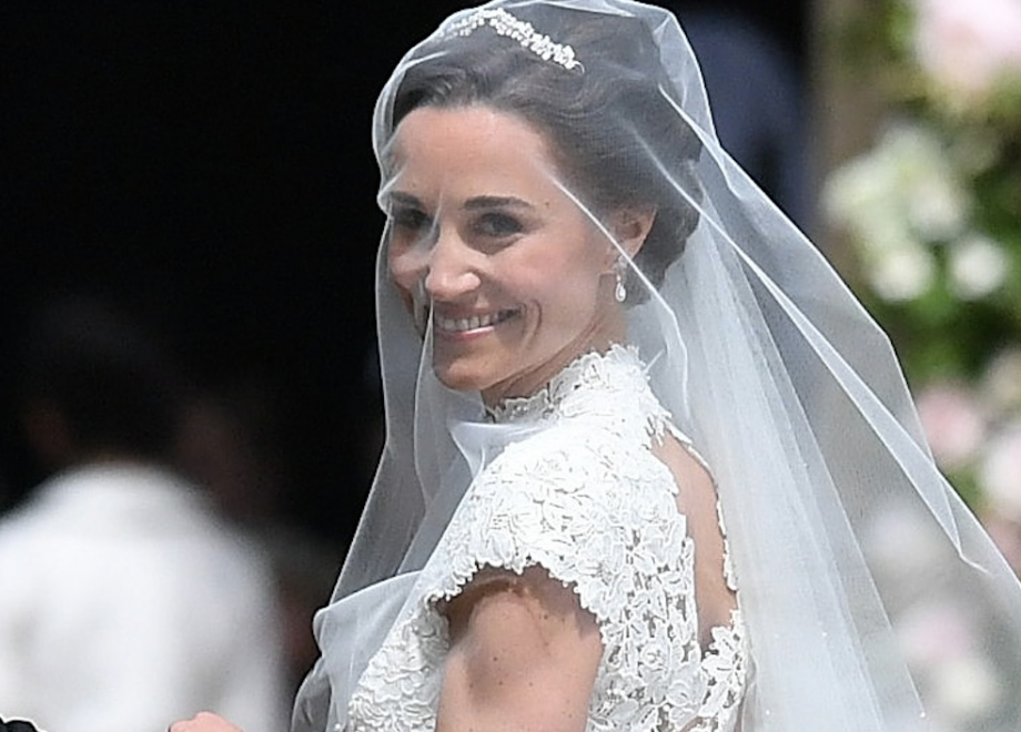 So pippa middleton 39 s wedding dress did not disappoint for Wedding dress like pippa middleton