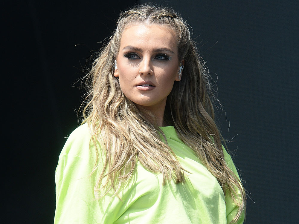 Perrie Edwards Gets Little Mix Into Trouble At Radio 1's ...