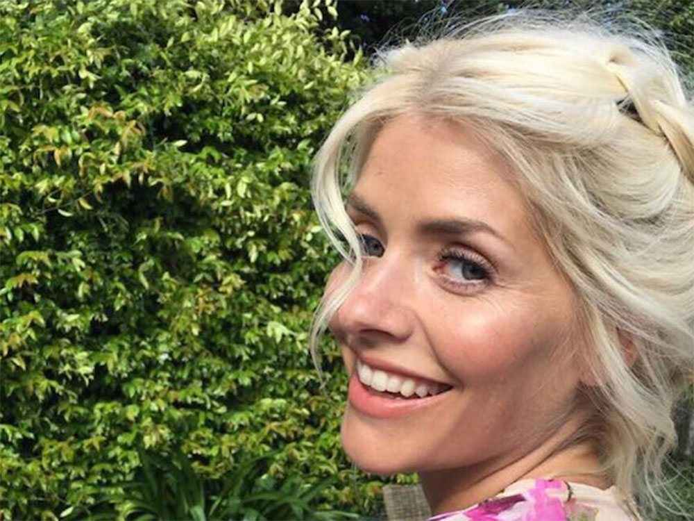 Holly Willoughby Debuts New Icy Blonde Hair And Looks