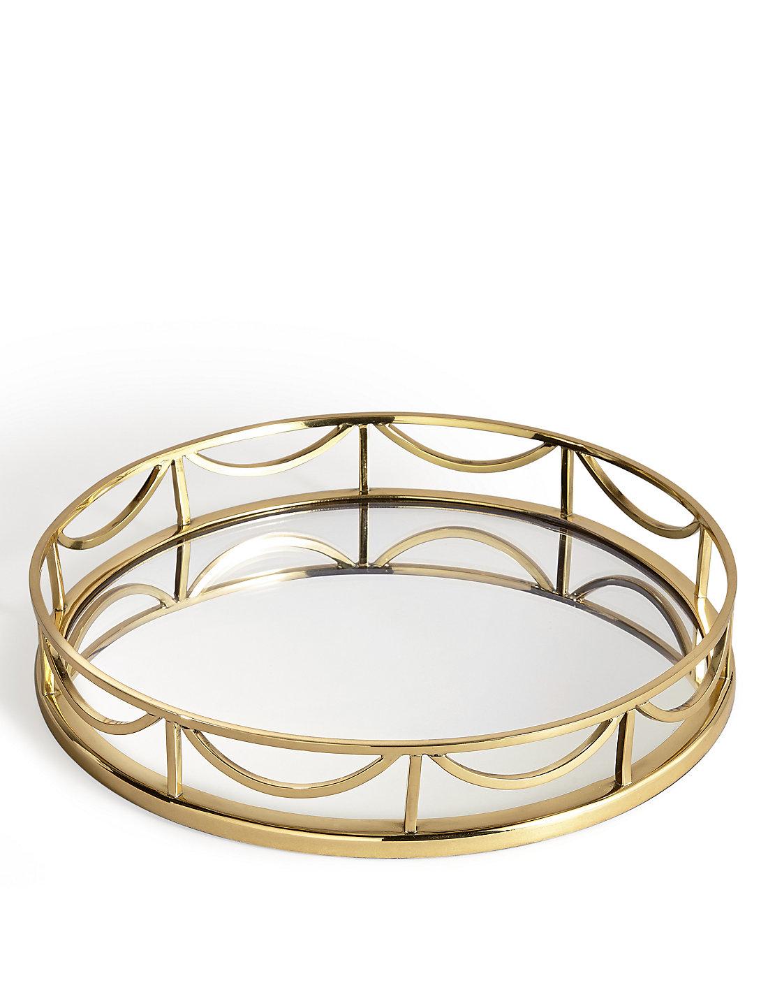 Round Mirrored Tray Uk Mirror Designs