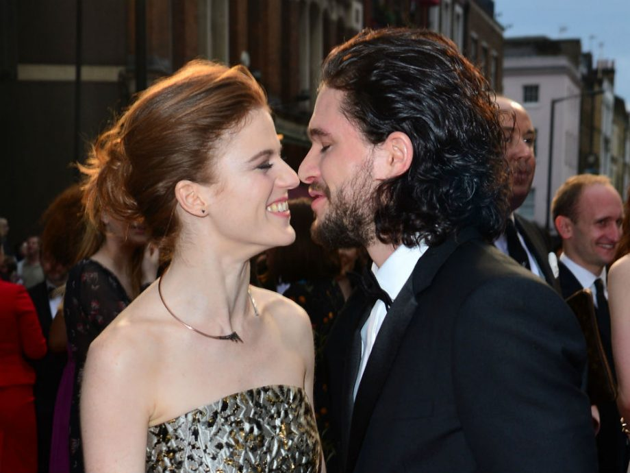 Game Of Thrones Kit Harington And Rose Leslie Are