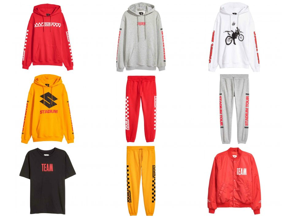 justin drops more merch with h m look magazine
