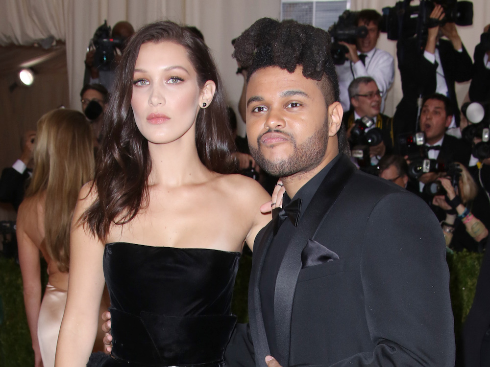 The Weeknd And Bella Hadid