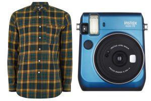 Shirt and camera