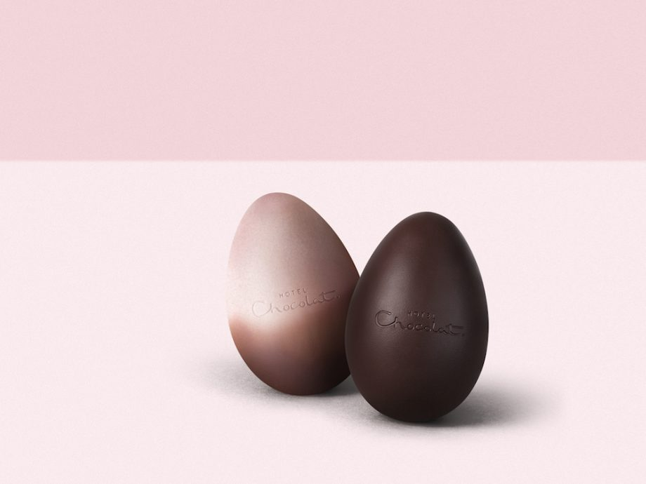 chocolate champagne easter egg