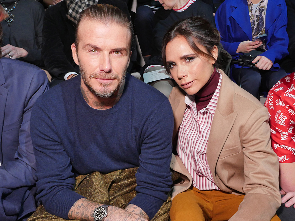 Did Victoria Beckham Just Confirm She And David Are