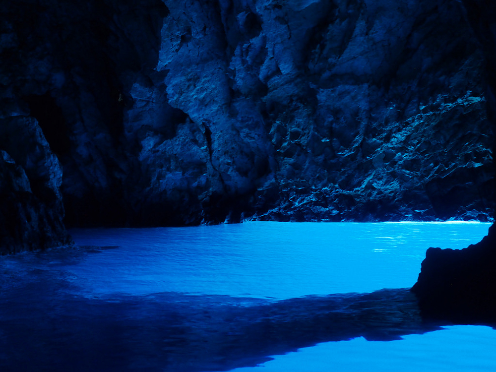 Blue cave Croatia - Scottish Staycation Locations That Look Like They May Be Overseas