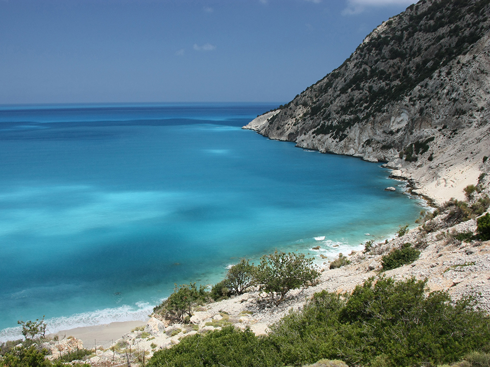 Myrtos Beach Kefalona - Scottish Staycation Locations That Look Like They May Be Overseas