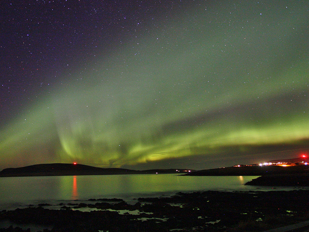 Northern LightsShetland - Scottish Staycation Locations That Look Like They May Be Overseas