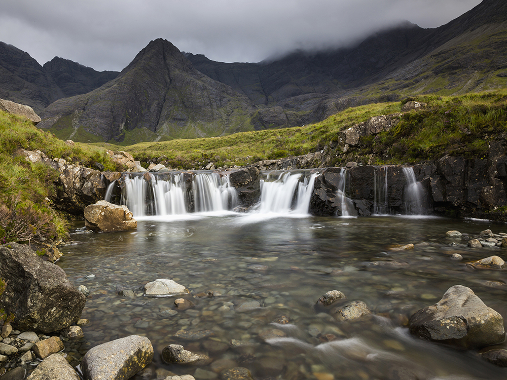 The Fairy Pools Isle of Skye - Scottish Staycation Locations That Look Like They May Be Overseas