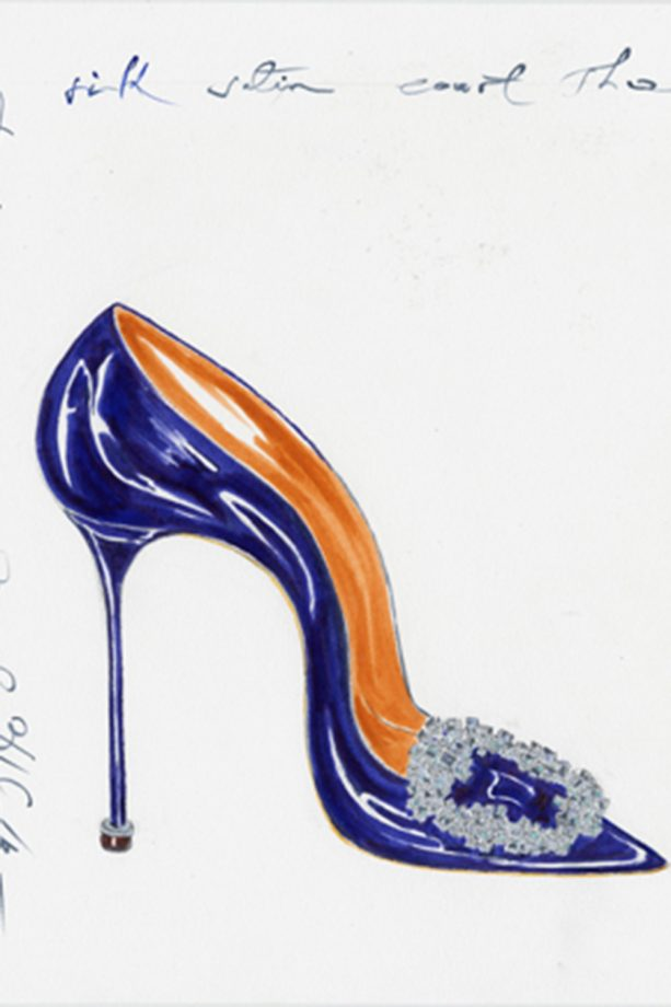 74f7f07a0 To mark 10 years since Carrie finally married her Mr Big in the most famous  wedding heels ever, Manolo Blahnik is releasing a limited-edition capsule  ...
