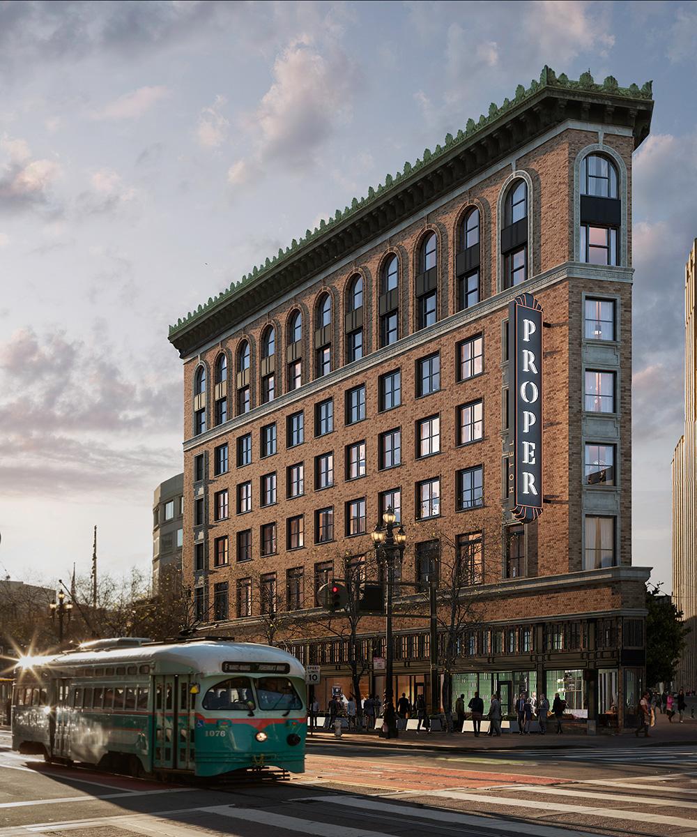 We love: Proper Hotel San Francisco