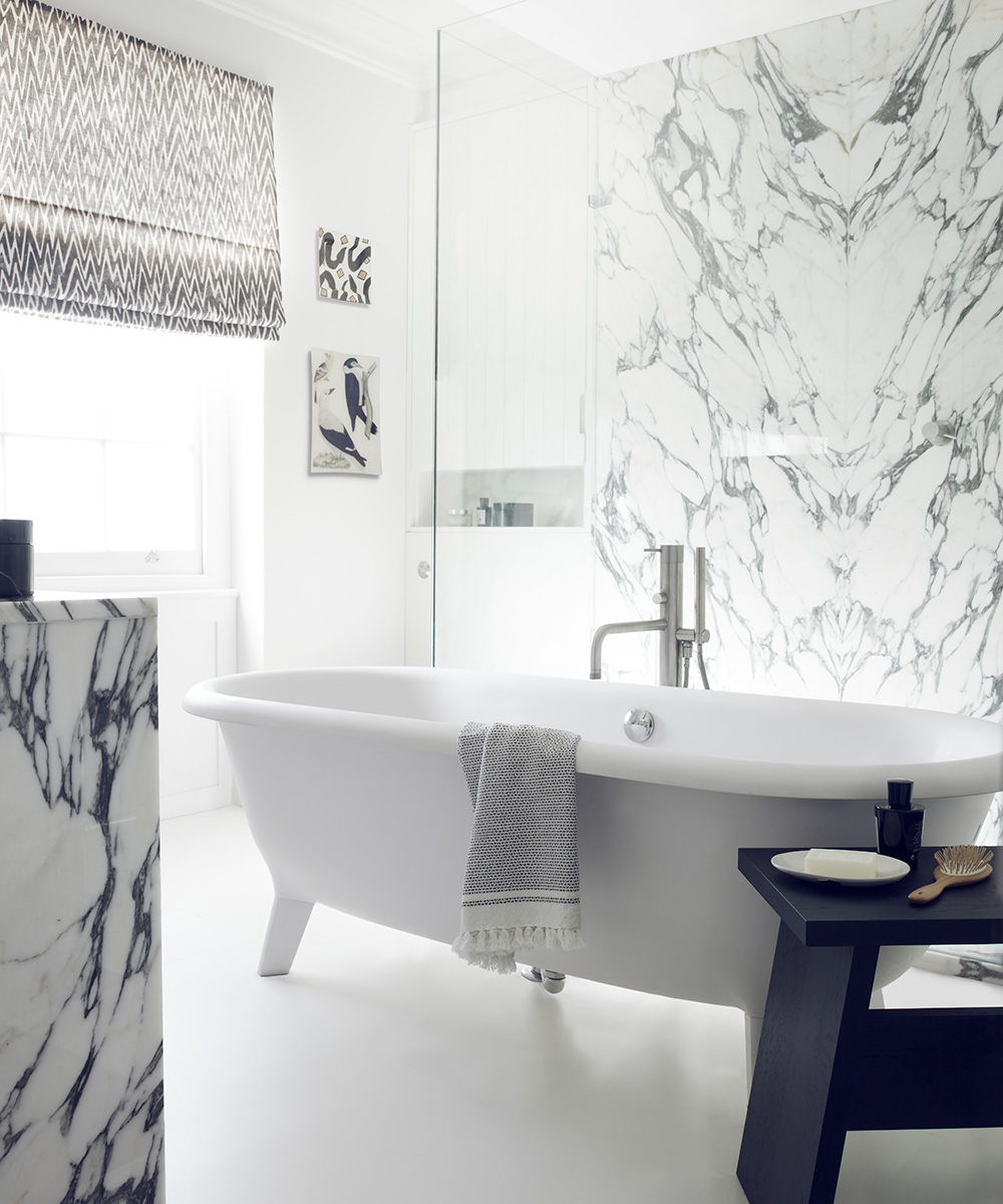 Sophisticated bathroom with classic, Italian style | Homes & Gardens