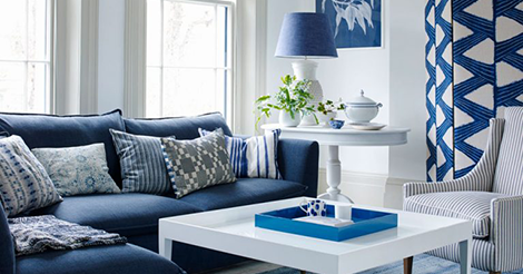 Blue room ideas – the cool colours that bring rooms alive