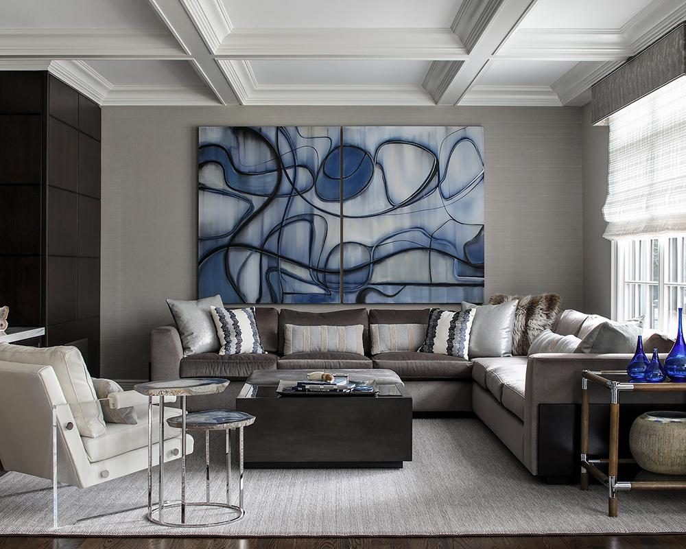 Design house: East Coast home, designed by Karen B. Wolf Interiors