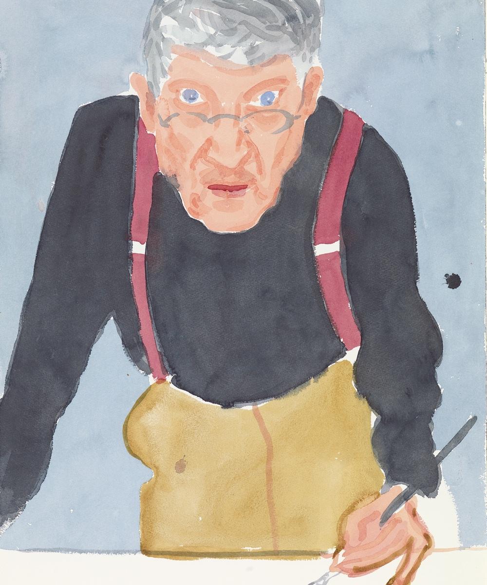 Page8 Hotel David Hockney Exhibition National Portrait Museum