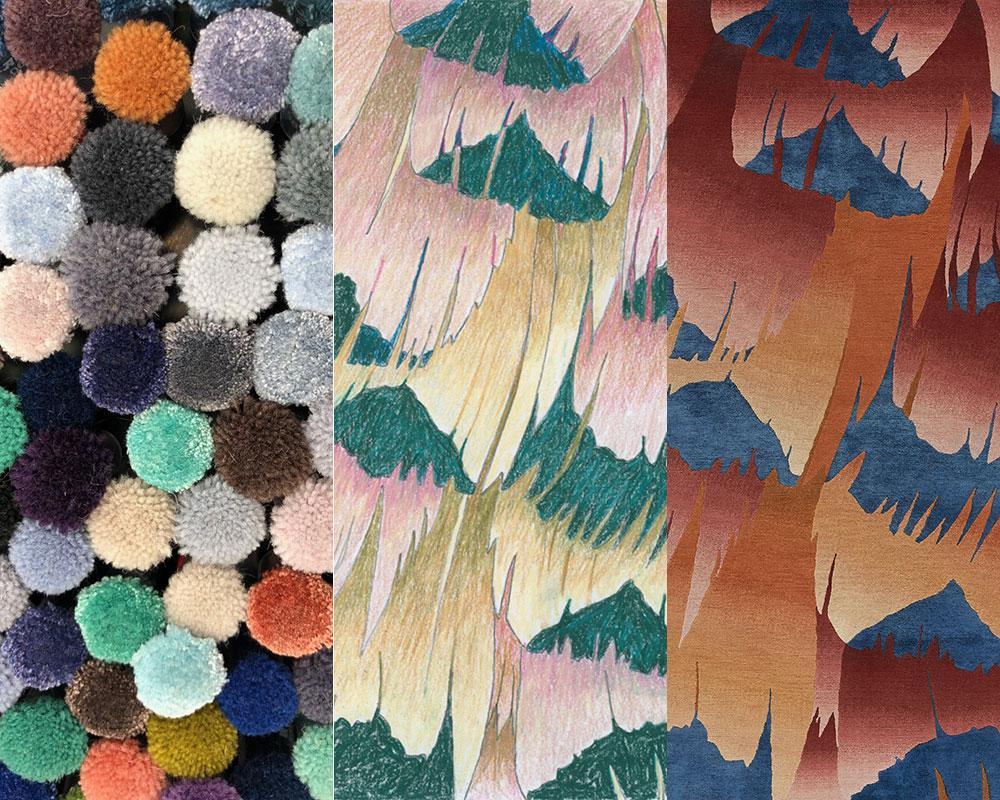 Deirdre Dyson virtual rug design