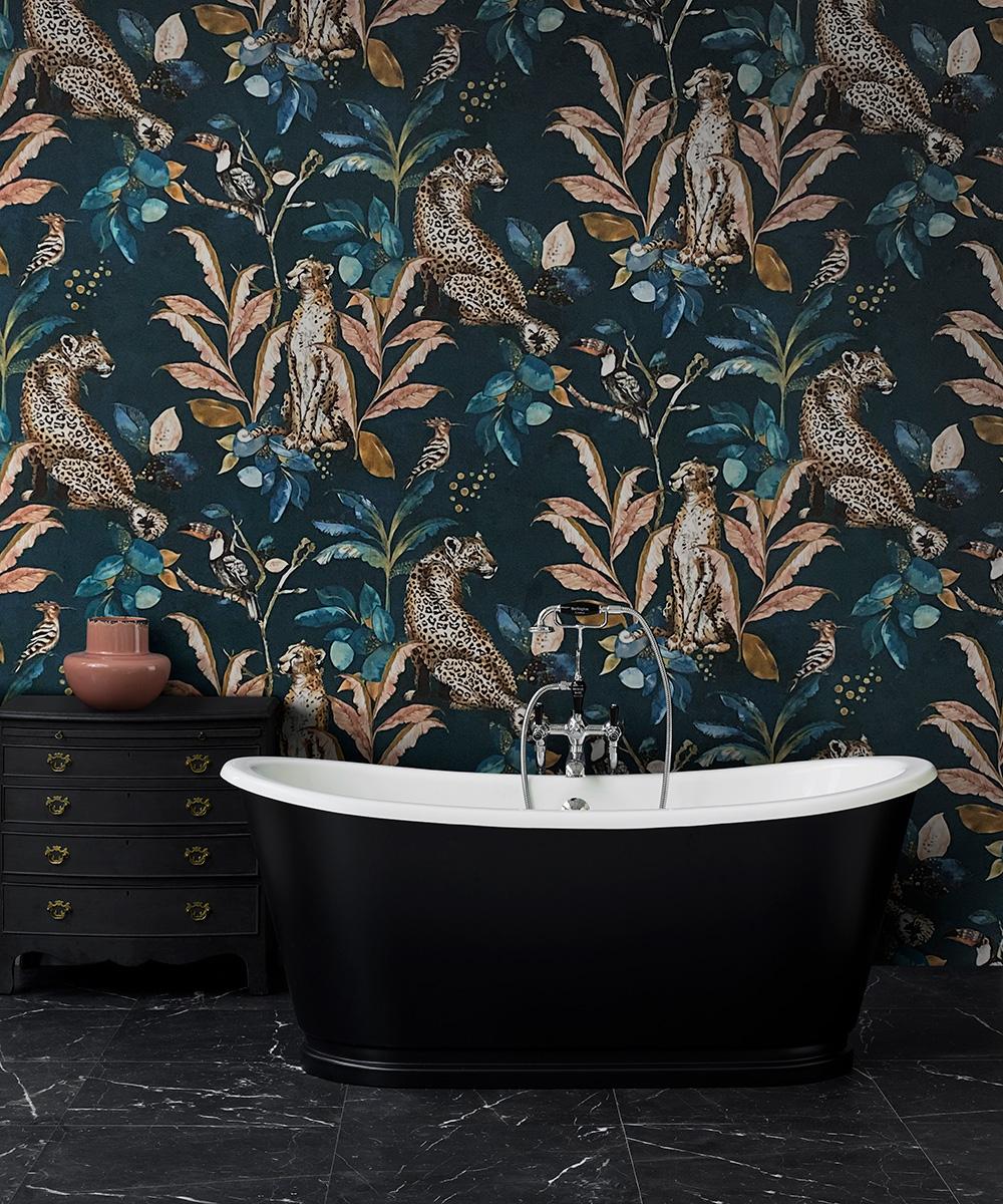 Black bathroom trends – Black bathroom decorating ideas
