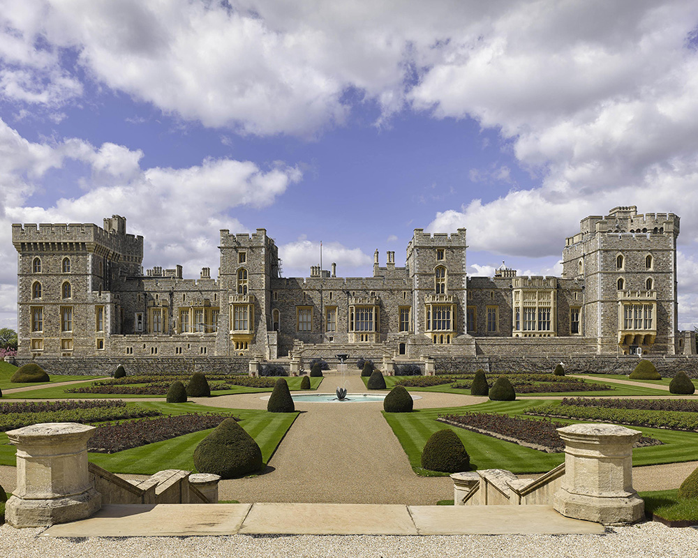 The East Terrace Garden at Windsor Castle will open to the public
