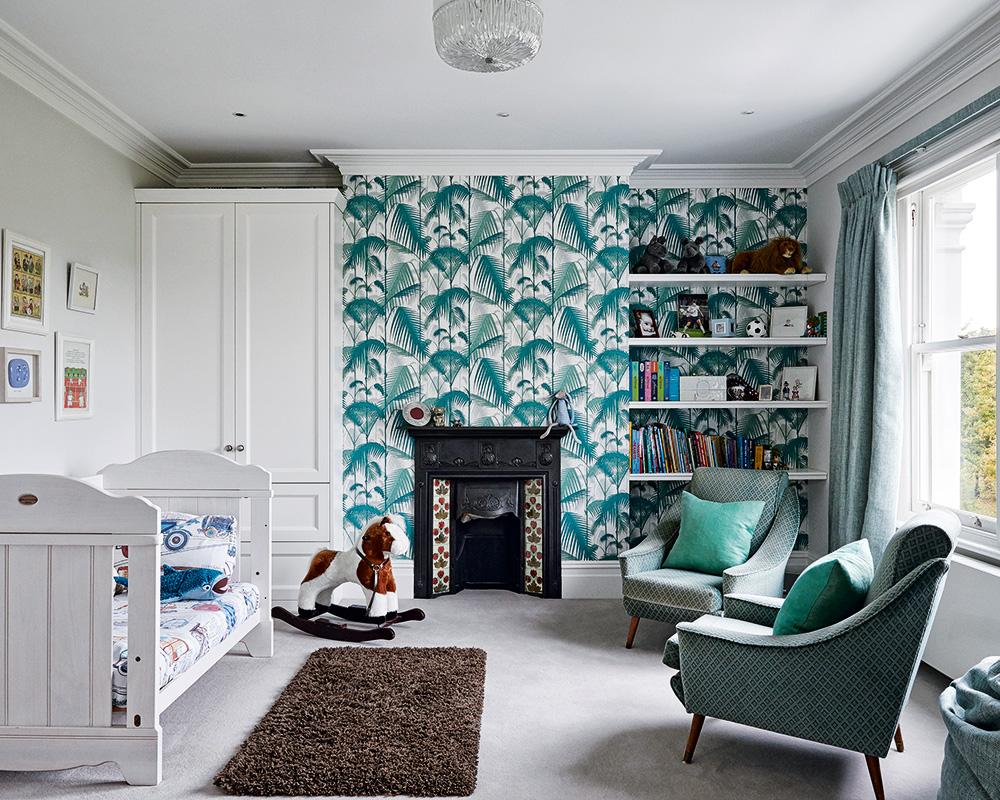Children's bedroom wallpaper ideas